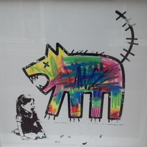 Vienīgais agresīvais suns bija zīmēts.