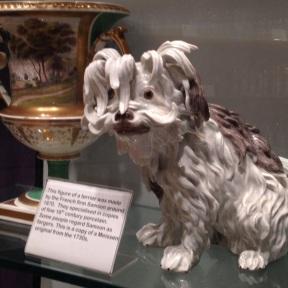 Vēsturisks suns no 19.gs.